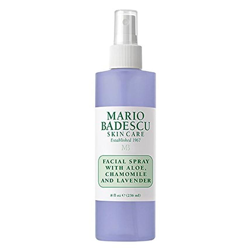 マリオ バデスク Facial Spray With Aloe, Chamomile & Lavender 236ml/8oz並行輸入品