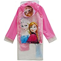 horizon where hope spread Princess Baby Children Cartoon Kids Girls Rainproof Long Raincoat Poncho Rain Slicker - Toddler