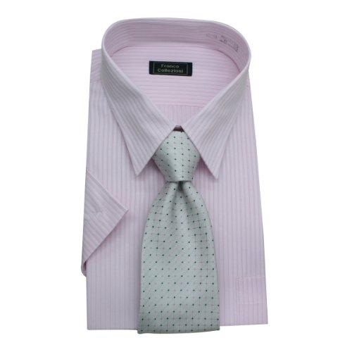 (フランコ コレツィオーニ)Franco Collezioni ビジネス用セット No.43 (ワイシャツ、ネクタイ) 50275-4,10450-4 50387  マルチカラー S