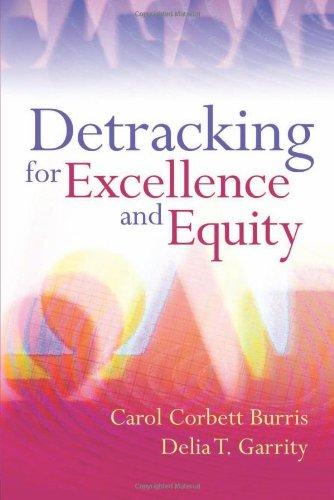 Download Detracking for Excellence and Equity 1416607080