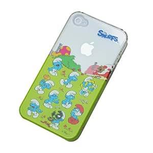 エフ・アール iPhone4/4S対応 ケース スマーフビレッジモデル IP4S-S004