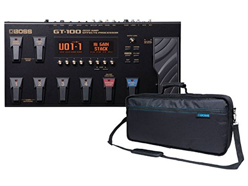 BOSS (ボス) GT-100 Version2.0 COSM Amp Effects Processor + 純正キャリングバッグ CB-GT100 セット