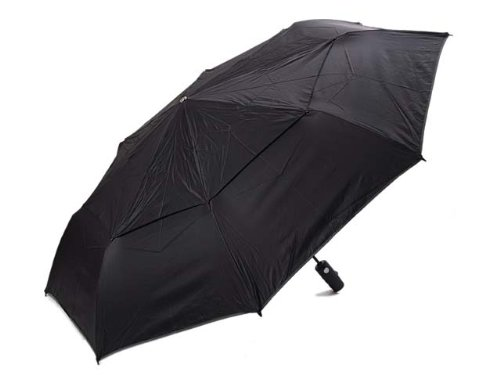 (トゥミ) TUMI 14416 ラージ オートクローズ アンブレラ(折りたたみ傘) ブラック [並行輸入品]
