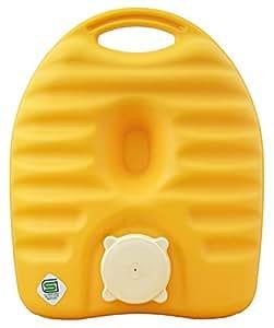 タンゲ化学工業 湯たんぽ イエロー 1.8L 袋付き ck557