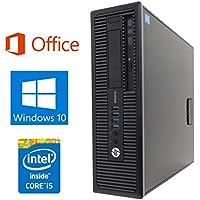 【Microsoft Office 2016搭載】【Win 10搭載】HP 600G1/第四世代Core i5-4570 3.2GHz/新品メモリ:16GB/HDD:1TB/DVDスーパーマルチ/USB 3.0/無線機能搭載/ほぼ新品/中古デスクトップパソコン (HDD:1TB)