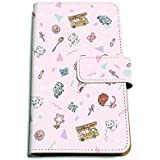 魔法の天使クリィミーマミ 01 ちりばめデザイン(グラフアート) 手帳型マルチケース