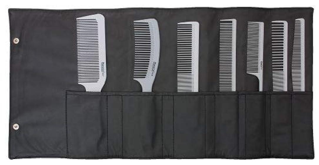 宇宙の大声で時Soft Gray Stylist Professional Comb Set [並行輸入品]