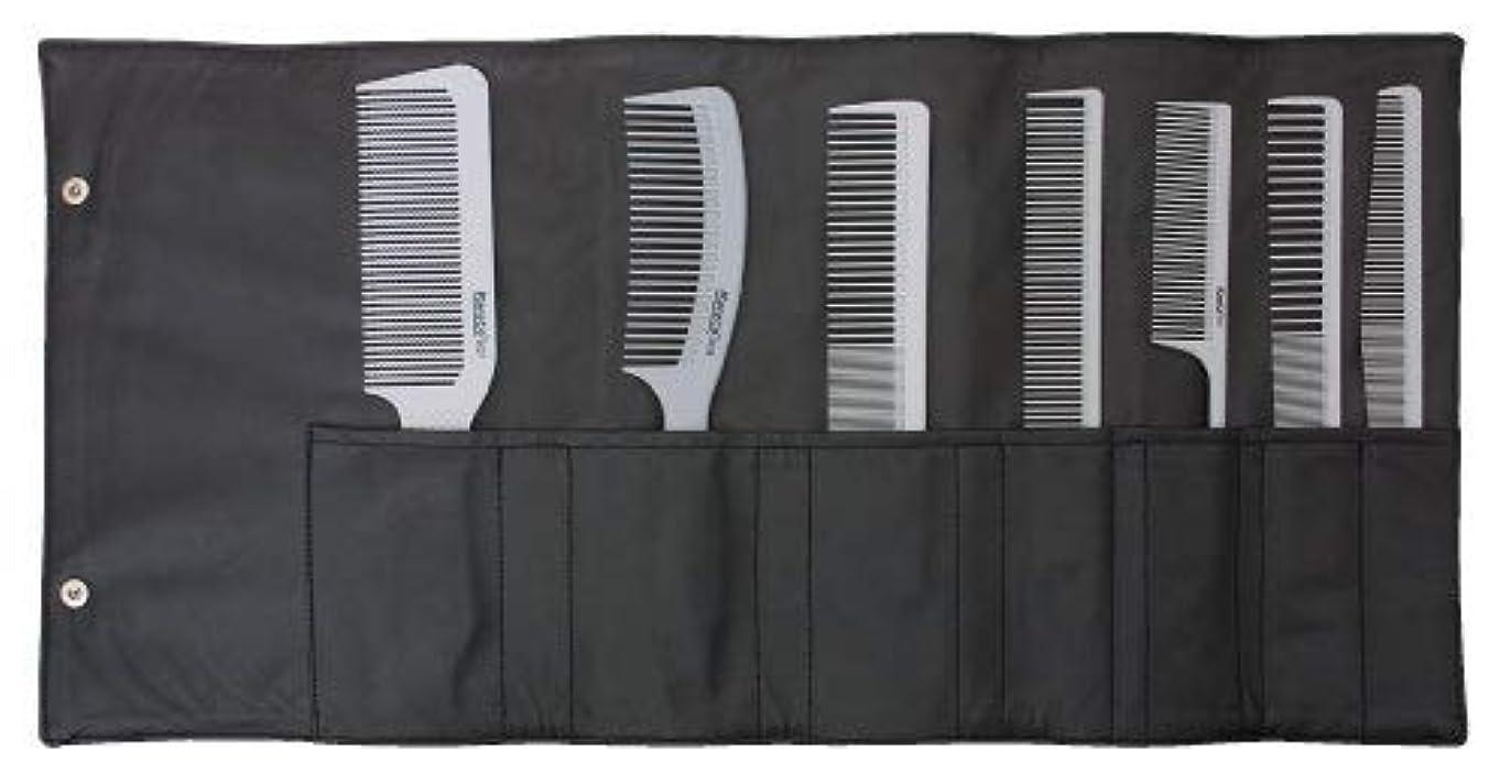 アブセイキャリッジ主要なSoft Gray Stylist Professional Comb Set [並行輸入品]