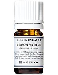 レモンマートル 5ml インセント アロマオイル AEAJ 表示基準適合認定精油