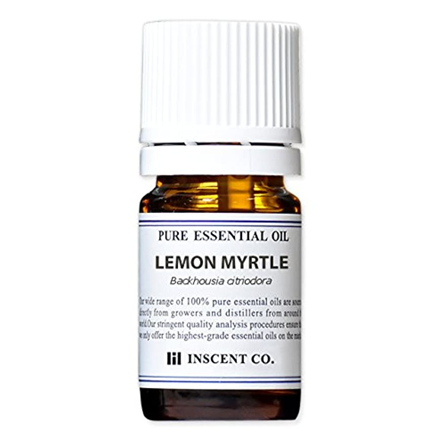 ナチュラル法医学ワックスレモンマートル 5ml インセント アロマオイル AEAJ 表示基準適合認定精油