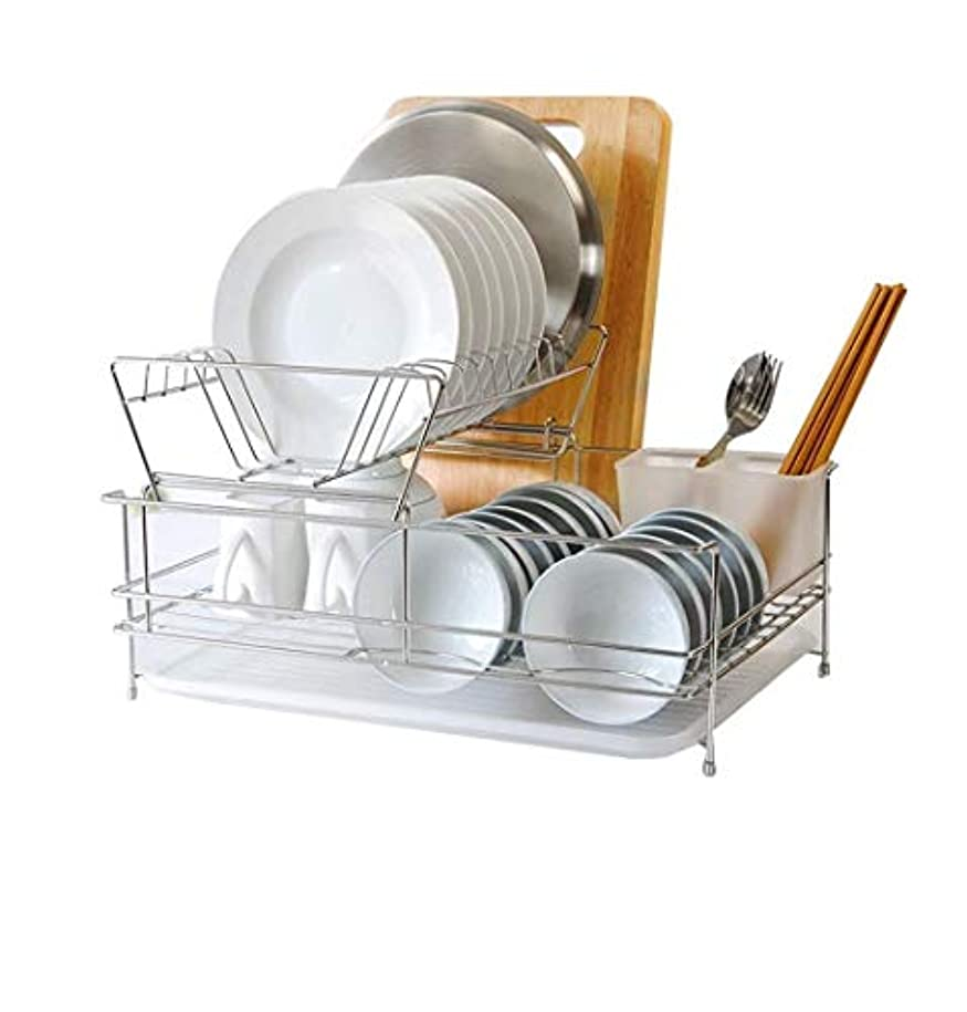 どれか特異な心配シンク水切り, 台所皿の皿およびカトラリーのホールダーが付いている皿の棚の排水棚の水切り器