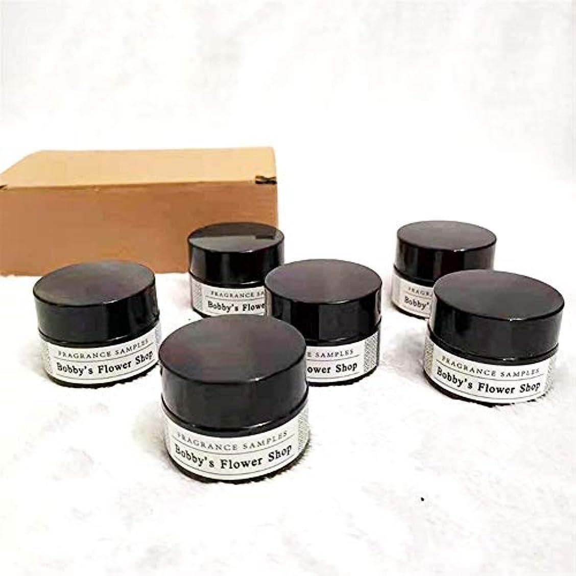 樹皮壮大リボンGuomao アロマセラピーキャンドルグラス、ガラスの香りライブラリ、告白小道具、無煙の香り、大豆ワックス (色 : 14cm*9cm*4.6cm)