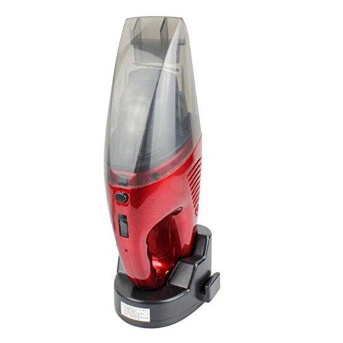 車の掃除機、車のワイヤレス充電可能なポータブルレッド掃除機湿...
