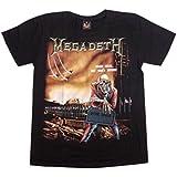 ロックTシャツ MEGADETH(メガデス) RT-MD-2ND