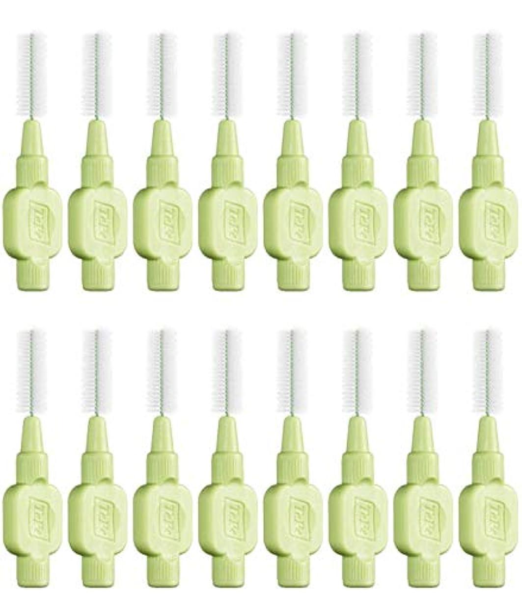 飼い慣らすプレート問い合わせるテペ 歯間ブラシ 極やわらかめ(エクストラソフト)0.8mm 8本入×2袋 (0.8)