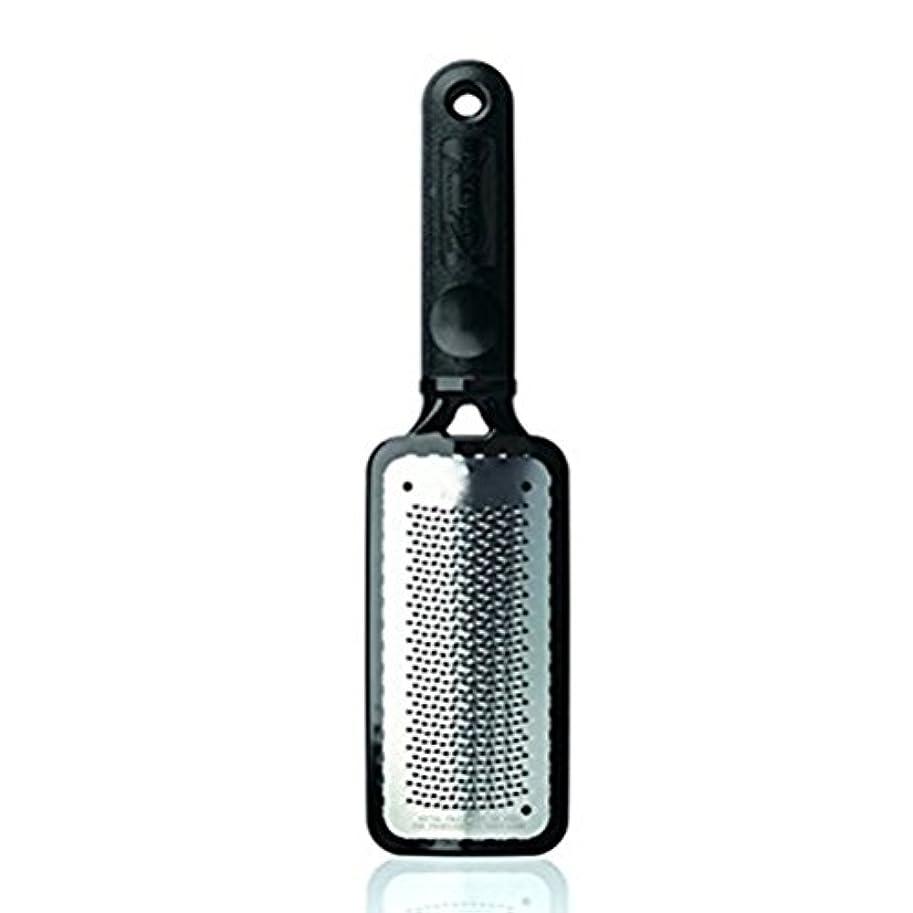 ウェイド策定する無線ROSENICE フットファイル 角質除去 フット用品 ステンレスス製  2本セット (ブラック)