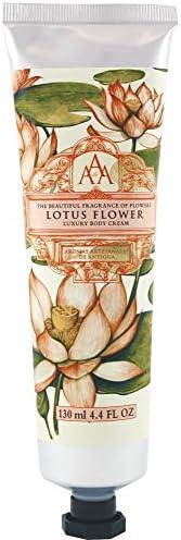 Aromas Artesanales De Antigua Floral Lotus Flower Luxury Body Cream 130ml