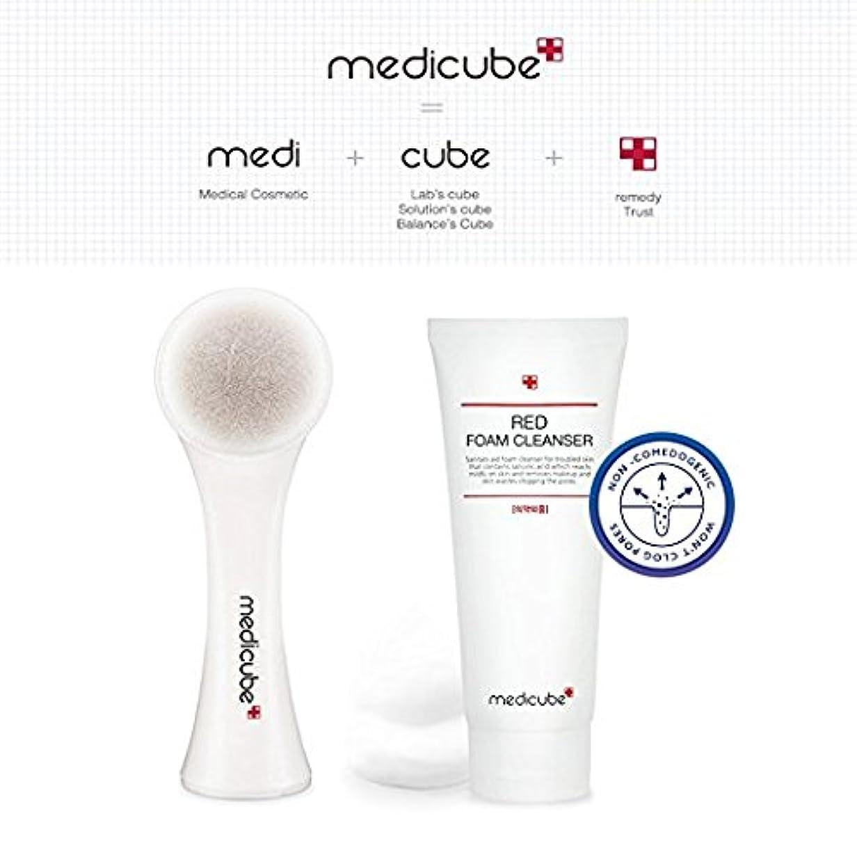 MEDICUBE RED Pore Brush, RED Foam Cleanser 120ml SET