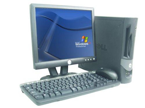 パソコン、Dell optiplex GX280,Pentium4 3.0GHz,1GBメモリ,80GBハードディスク,リフレッシュパソコン,17インチ純正モニター付き,DVD