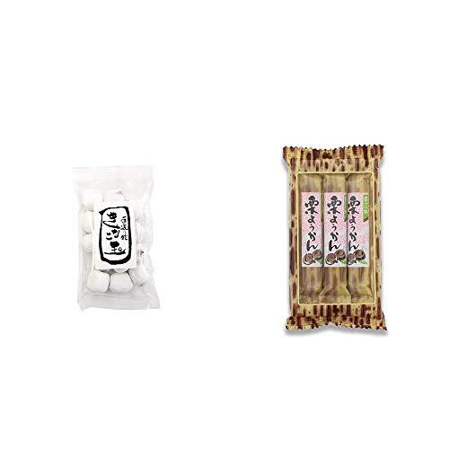 [2点セット] きなこ玉(160g)・スティックようかん[栗](50g×3本)