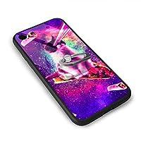 Outer Space Taco Cat Iphone 7/8 TPU Glass Phone Case スマホケース -TPUソフトケース-強化ガラスケース 電話ケース星人気の