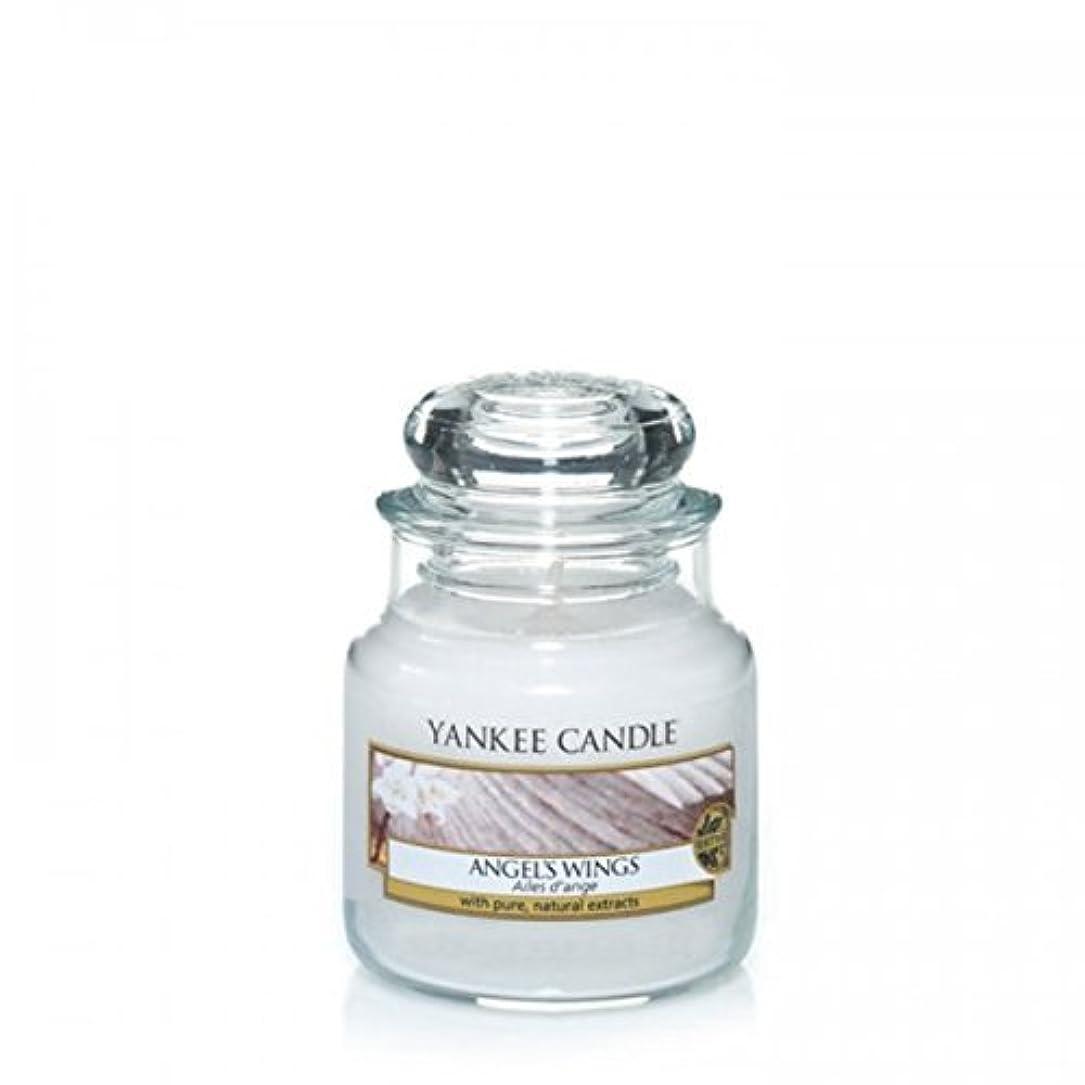 有名静かなエレベーターYankee Candle Angels Wings Jar 3.7Oz by Yankee Candle [並行輸入品]