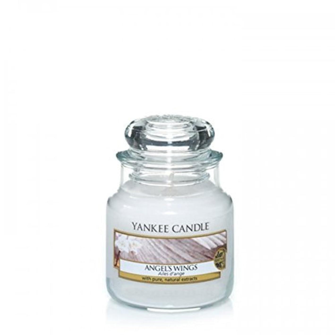 ドレスフラグラント見捨てるYankee Candle Angels Wings Jar 3.7Oz by Yankee Candle [並行輸入品]