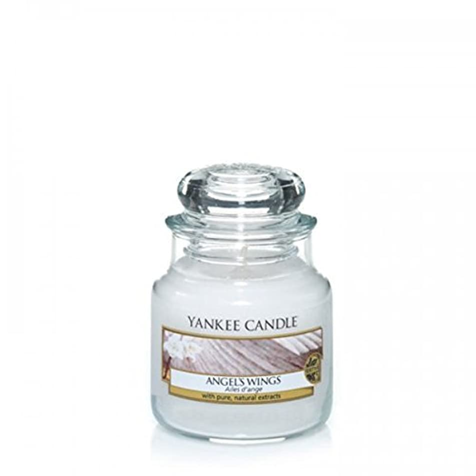 リボン老人落花生Yankee Candle Angels Wings Jar 3.7Oz by Yankee Candle [並行輸入品]