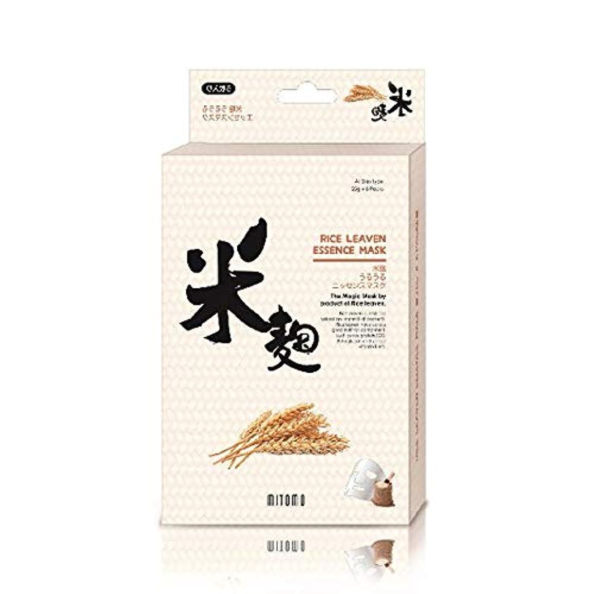 状韓国語想起美友 うるうるエッセンスマスク 米麹 6枚入