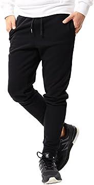 JIGGYS SHOP 运动裤 男款 慢跑裤 运动衫 修身 修身 纯色 侧边 迷彩