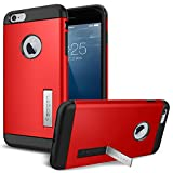 iPhone 6 Plus ケース, SpigenR [ スリム+保護力+個性 ] スリム アーマー Apple iPhone (5.5) アイフォン 6 プラス カバー (国内正規品) (エレクトリック・レッド 【SGP10902】)