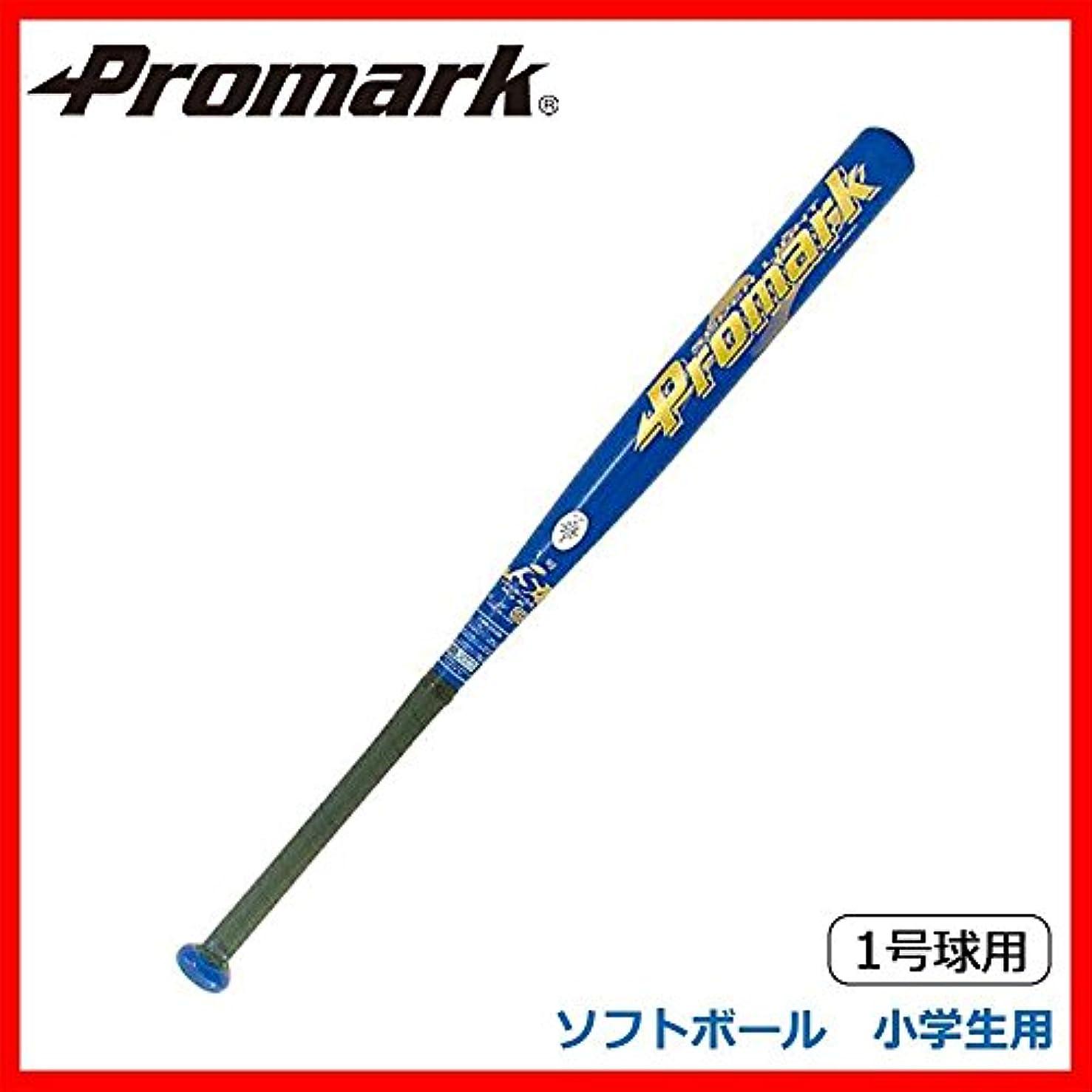 寛容階層カップルPromark プロマーク 金属製バット ソフトボール 小学生用 1号球用 ブルー AT-150S