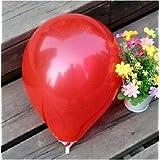 FidgetGear Wholesale 100pcs Latex Helium Thickening Round Wedding Party Birthday Balloon Red 50 Pcs