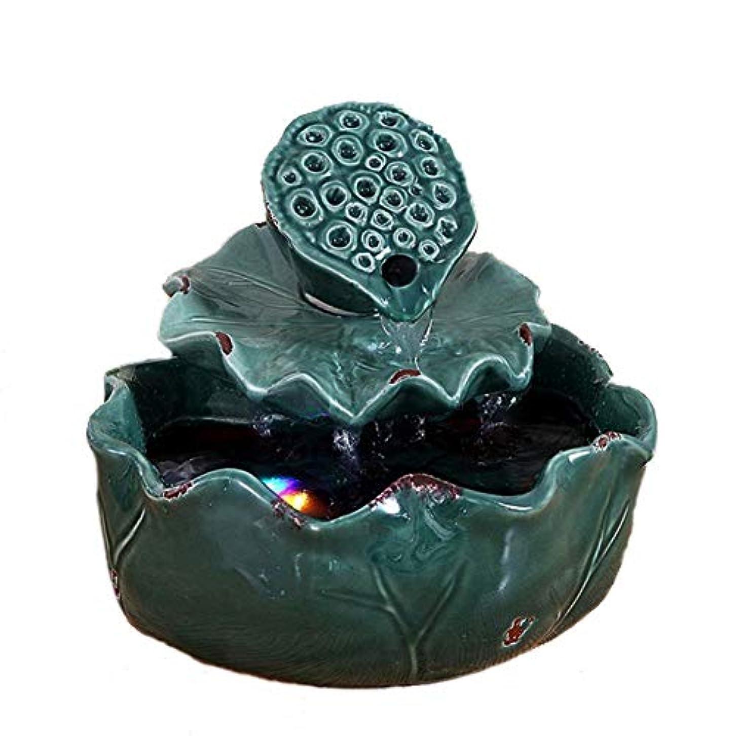 キャンパスかもめレパートリー空気加湿器クリエイティブロータス卓上装飾装飾セラミック工芸絶妙なギフト