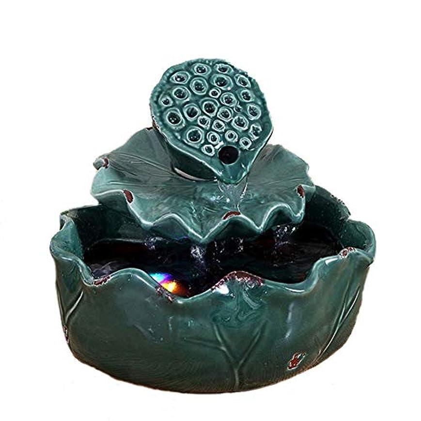 マガジン自然追加空気加湿器クリエイティブロータス卓上装飾装飾セラミック工芸絶妙なギフト