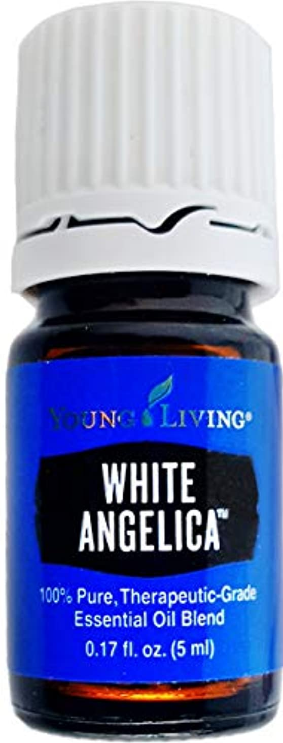 現れる柔らかい床Young Living ホワイトアンジェリカ5ミリリットルエッセンシャルオイルエッセンシャルオイル