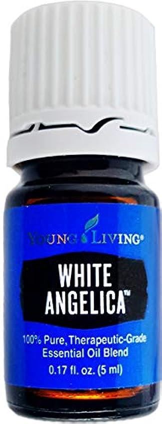 追い付く細菌細心のYoung Living ホワイトアンジェリカ5ミリリットルエッセンシャルオイルエッセンシャルオイル