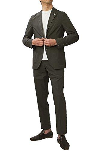 LARDINI Easy Wear パッカブル 超軽量コットン 3釦段返り スーツ