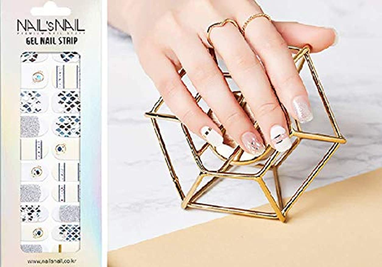 タフ人類平手打ち\貼るジェルネイル/Nail's Nail(ネイルスネイル) ジェルネイルストリップ 106