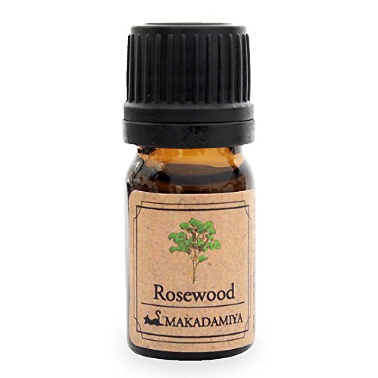 サーフィン祈る心理的にローズウッド5ml 天然100%植物性 エッセンシャルオイル(精油) アロマオイル アロママッサージ aroma Rosewood