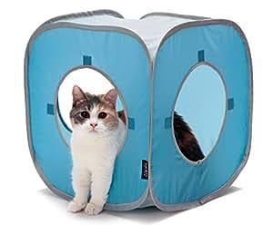 猫壱 キャットプレイキューブ ブルー