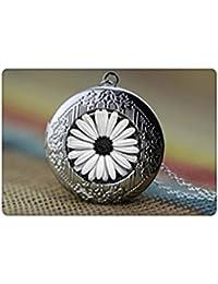 植物の宝石のネックレス、ヒマワリ、満月の花ペンダントネックレス