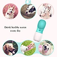 Convenient Cat Dog Hanging Bottle Water Dispenser Pet Water Drinking Head Dispenser Fountain Feeder Pet Supplies