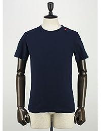 SWEEP!! スウィープ!! メンズ コットン 半袖 クルーネック Tシャツ Crew (ネイビー)