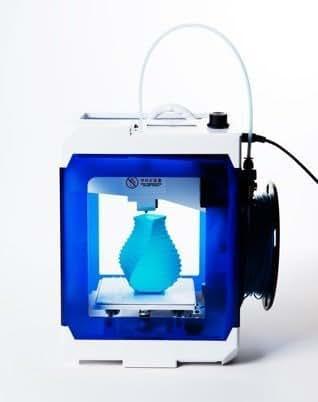 ボンサイラボ 真面目にコツコツ3Dプリンター。BS CUBE™ PLA 3Dプリンター クリアブルー