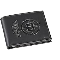 Team Sports America Leather Boston Bruins二つ折り財布