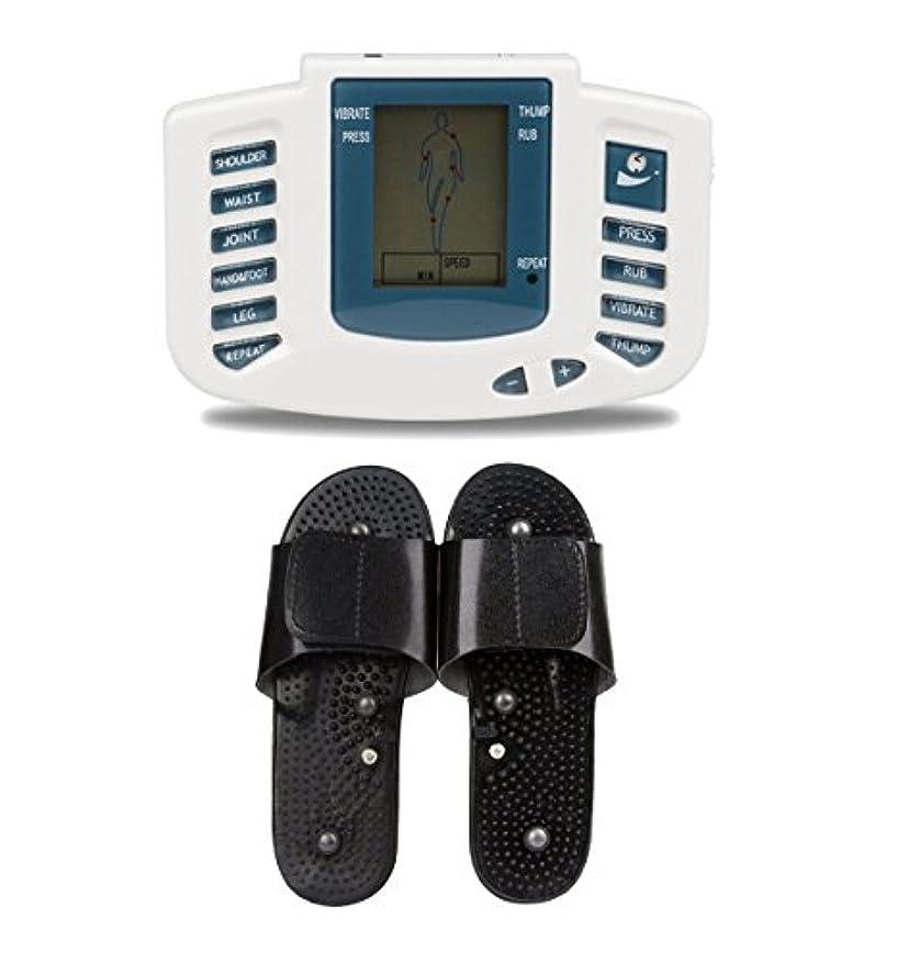 組第九卒業記念アルバムUniSign tens machine 電子パルス 電気低周波治療器 電気tens 低周波治療器 リラックス 痛み緩和 スリッパ付き 16つパッド 10レベル