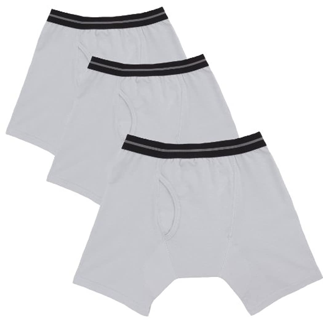 振り子疾患ドラッグ渡嘉毛織 NEWフィフティボクサーパンツ 男性用 50cc 3枚セット グレー Lサイズ 吸水パンツ