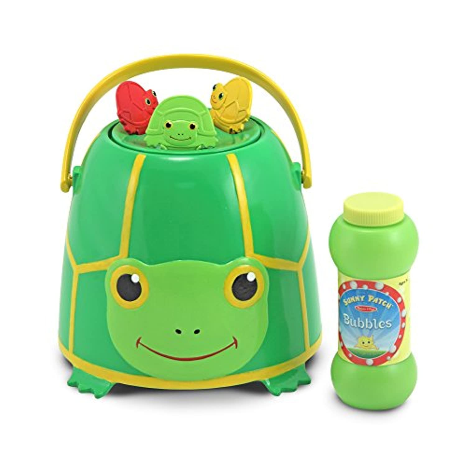 Tootle Turtle Bubble Bucket: Sunny Patch Bubble Fun