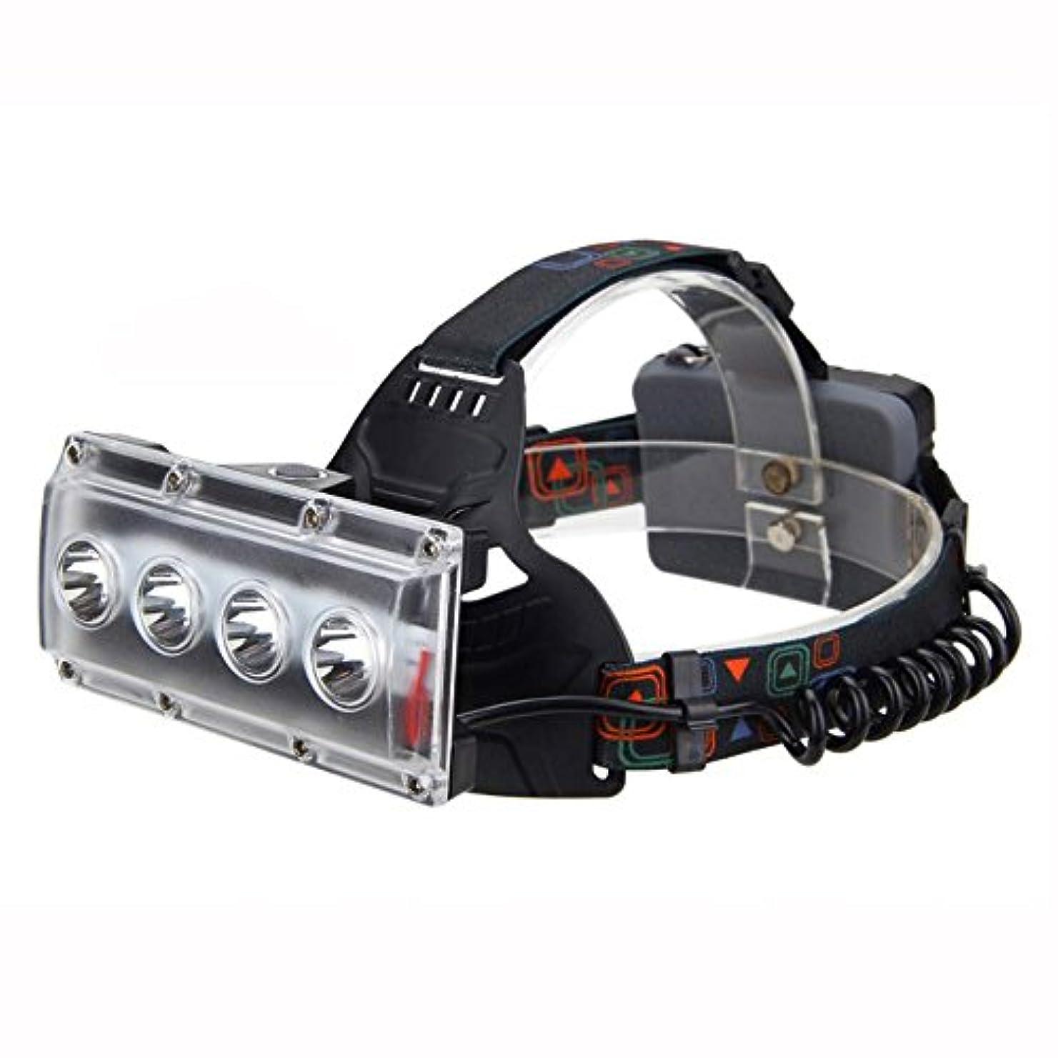故国電気の推進力XIAOBUDIAN 防水4000 Lm 4X XM-L T6 LEDヘッドライト3つのモードヘッドランプトーチキャンプハイライト (サイズ さいず : A)